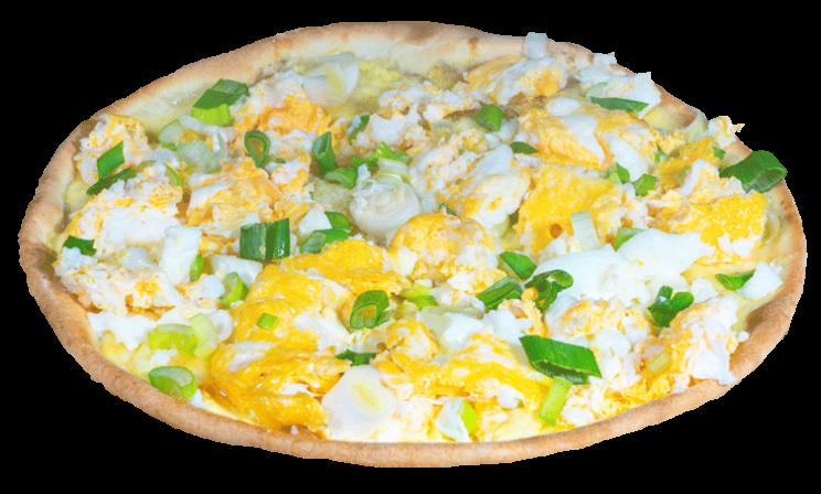 Pizza Rührei<sup>F,S,V</sup>