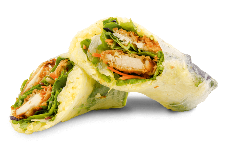 Sommerrolle Crispy Indian Chicken