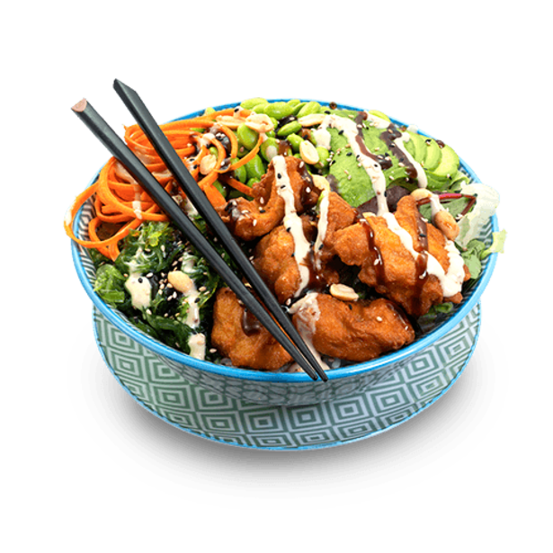 Japanese fried Chicken Bowl