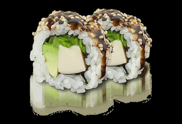 Chicken Teriyaki Roll - 8 Stück