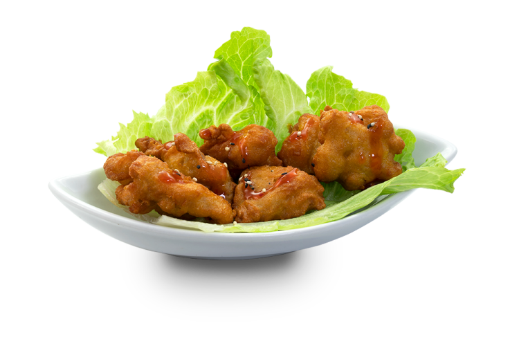 Japanese fried Chicken Box - 5 Stück