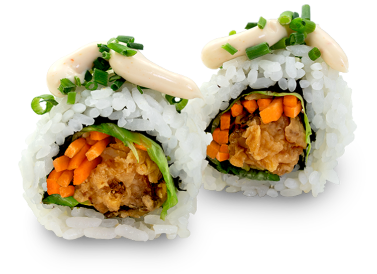 Japanese fried Chicken Roll - 8 Stück