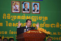 Hun Sen condemns the Sri Lankan...