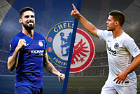 Chelsea expect to win Frankfurt as...