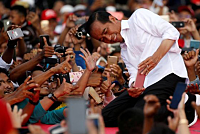 Widodo continues to hold the post of...