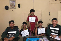 Three suspects arrested in drug...