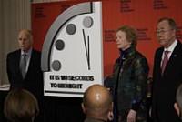 Doomsday Clock nears apocalypse over...