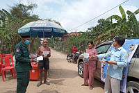 Prey Veng Provincial Police Office...