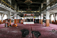 The attack on the Sikh-Hindu church...