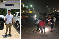 Armed gunman fired at 10 shots in...