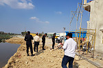 Authorities Conduct a Visit to Land...