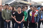 "Cambodian workers in Korea: ""We will..."