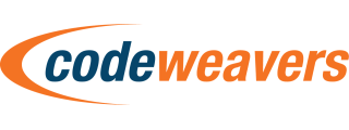 Codeweavers orange and blue logo.png