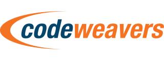 Codeweavers orange and blue logo.png