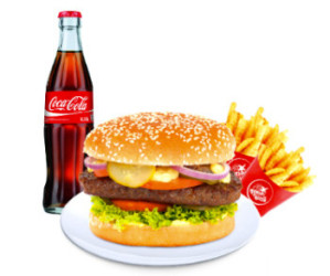 World Burgermenü Giant