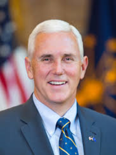 Vice President Mike R. Pence Vice President United States of America