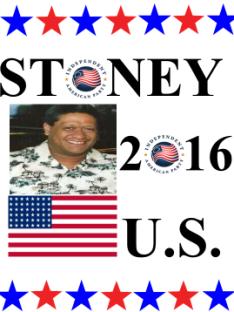 Stoney Teiko Fonua U.S. Senate Utah