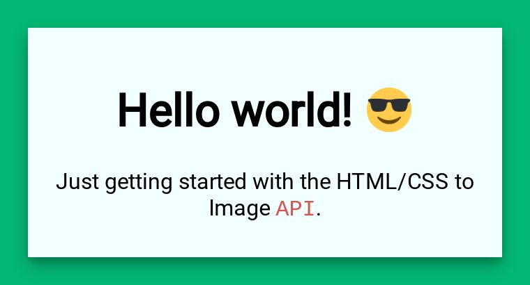 Emoji support in HTML/CSS to Image API