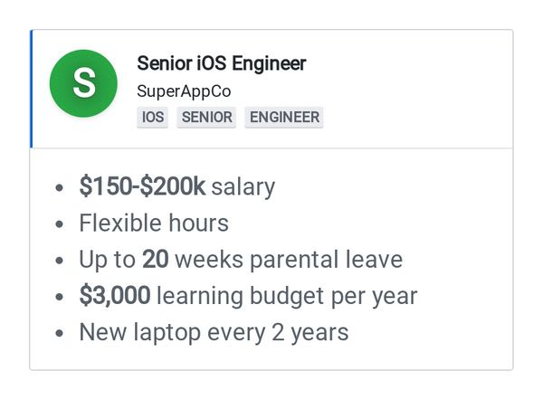 Autogenerated image for a job advertisement