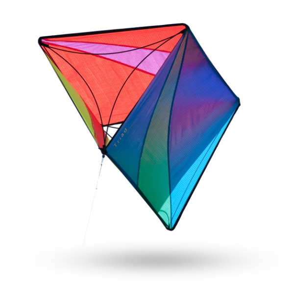 Prism Triad Box Kite, Spectrum