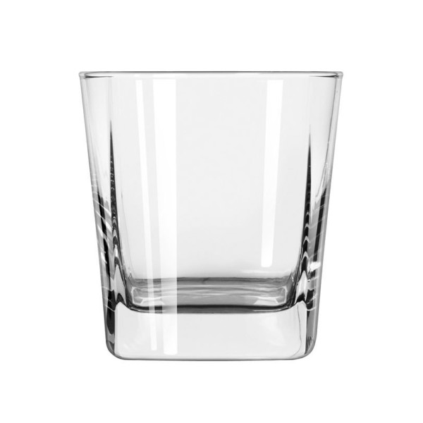 Libbey Quartet Square Base Rocks Glass 12 oz (07-1948) Category: Rocks Glasses
