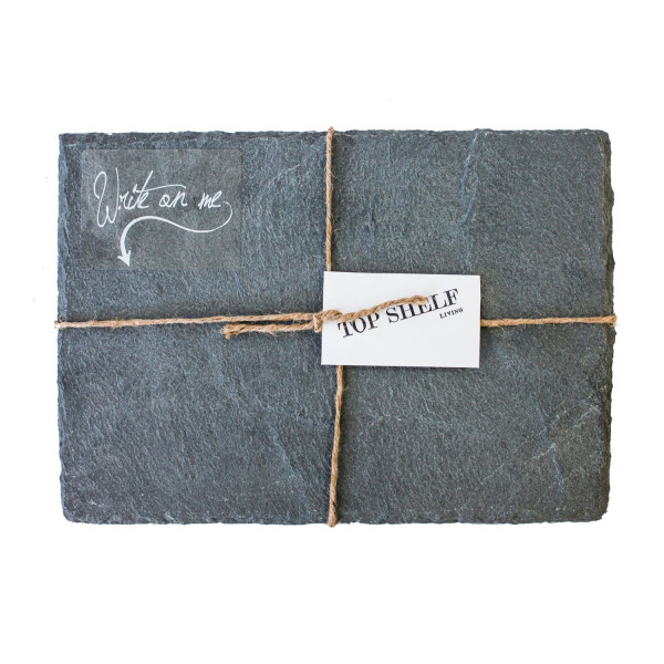 Top Shelf Living Slate Cheese Board