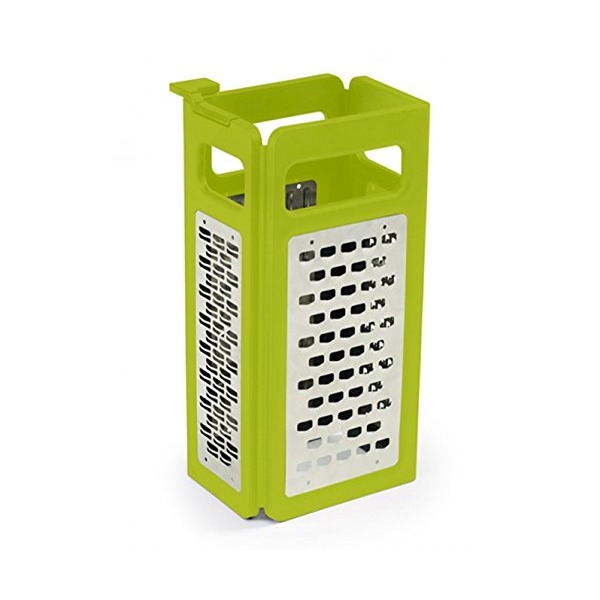 Joseph Joseph 4-in-1 Fold-Flat Grater Plus, Green