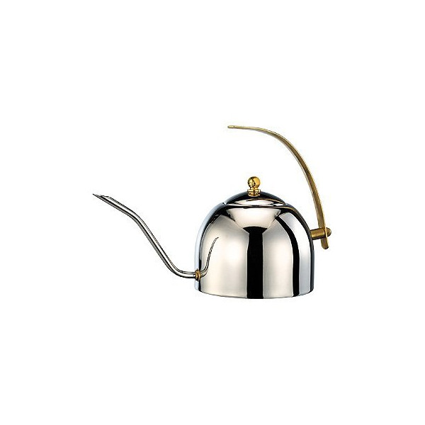 Cafe de Tiamo 1L Stainless Steel Pour Over Coffee Pot (HA8611)