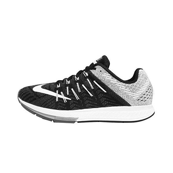 Men's Nike Air Zoom Elite 8 Running Shoe Black/White Size 9.5 M US