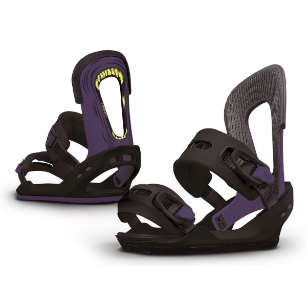 Switchback Eiki Pro Model Complete Snowboard Binding
