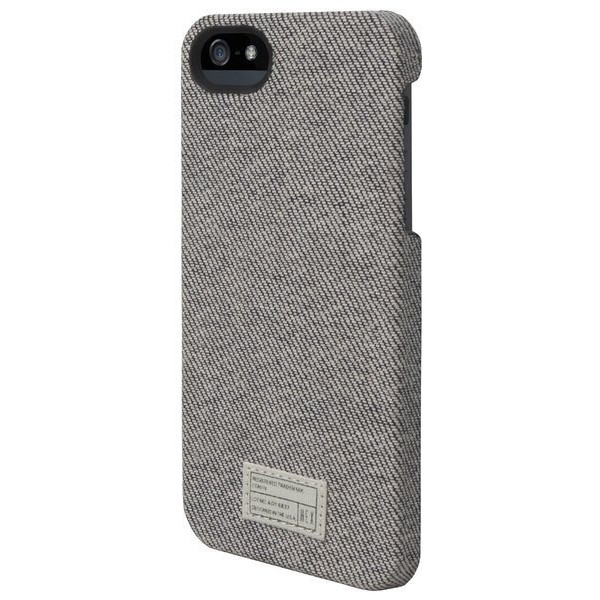 Hex Academy Case for iPhone 5, Grey Denim