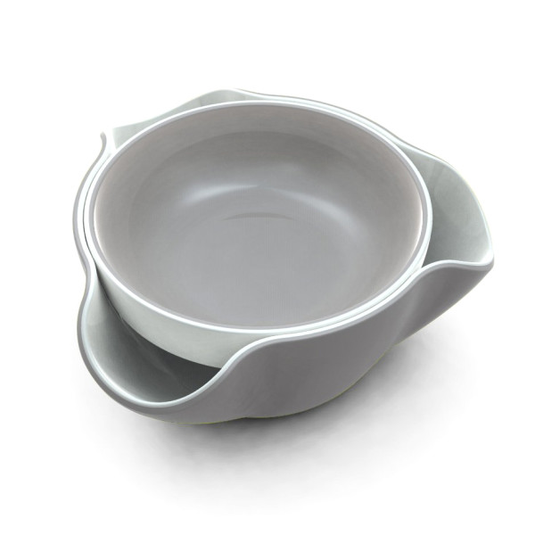 Joseph Joseph Double Dish, White/Grey
