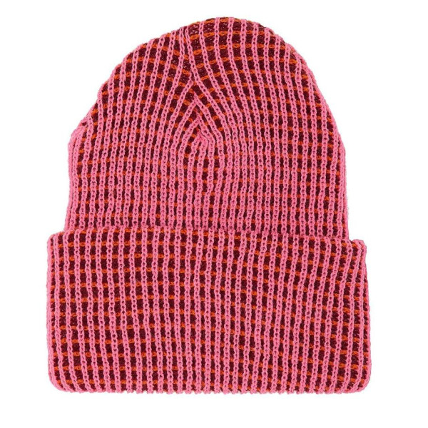 American Apparel Optic Beanie, Fluorescent Pink Sherbert