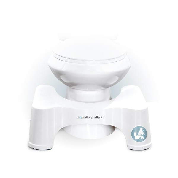 Squatty Potty® Toilet Stool, 7 Inch- The Original - Made in U.S.A.