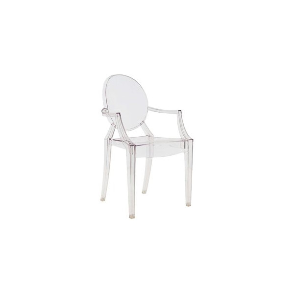 Louis Ghost Chair by Kartell -Transparent Crystal