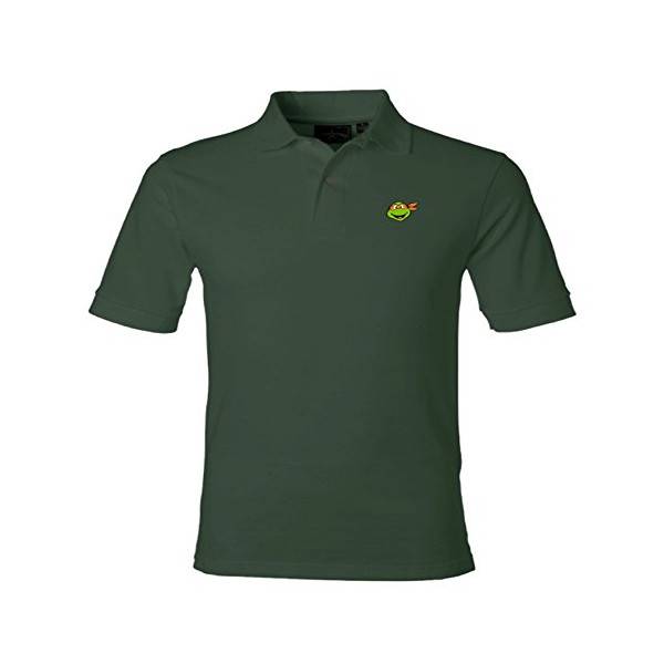 Teenage Mutant Ninja Turtles Mike Mens Polo (Small)