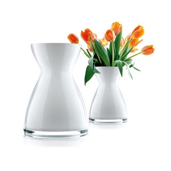 Eva Solo Florentine Vase, 26cm, White