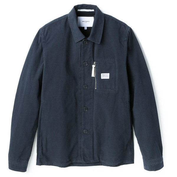 Norse Projects Kyle Dry Canvas Jacket, Dark Navy