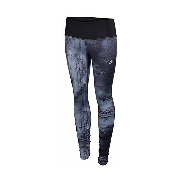 Girl's Nike Leggings Dri-Fit Black Printed 655618-430 (M)