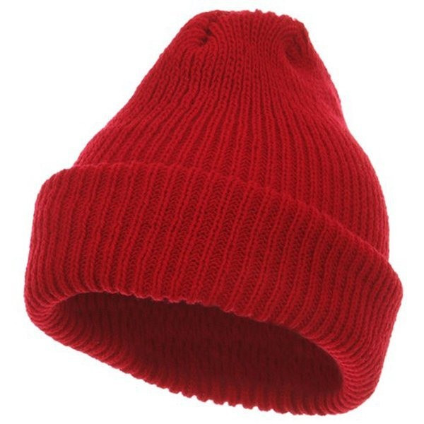 Heavy Weight Watch Cap, Red