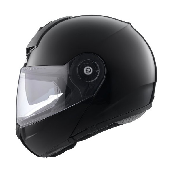 Schuberth C3 Pro Gloss Black Medium Modular Helmet