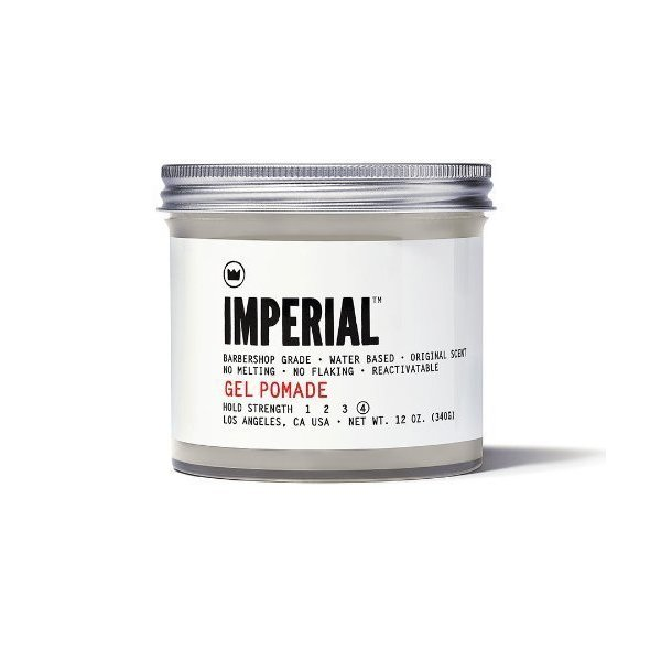 Imperial Barber Products Gel Pomade 12oz by Imperial Barber Products