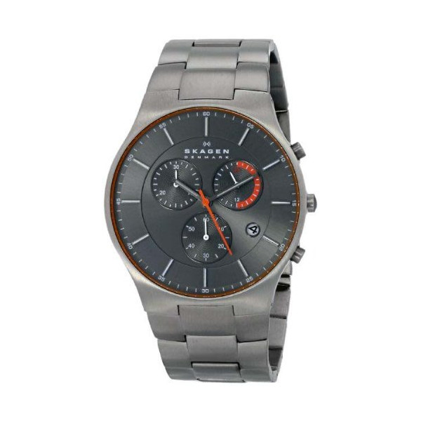 Skagen Men's SKW6076 Aktiv Analog Display Analog Quartz Silver Watch