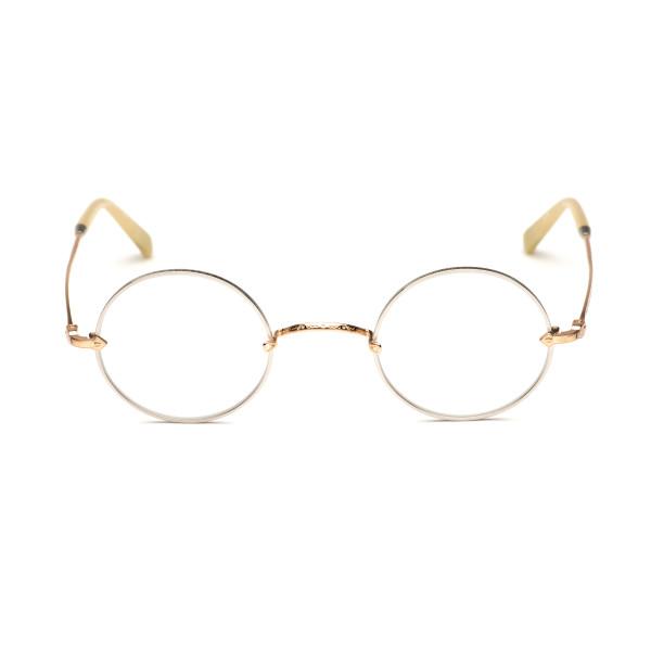Matsuda 2869h Round Silver and Gold Eyewear