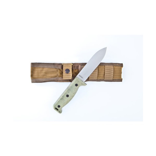 Ontario 7500 Blackbird SK-5 Wilderness Survival Knife (Brown)