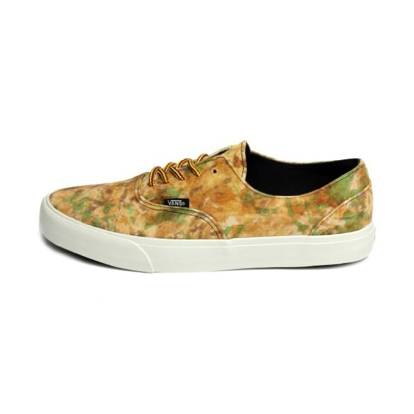 Vans Unisex Era Decon Ca Camo Brown Yellow Vn-0ox18in