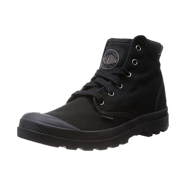 Palladium Men's Pampa Hi Cuff Combat Boot, Black, 7 M US
