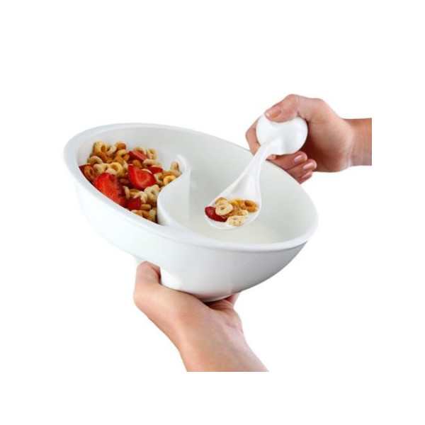 Obol The Original Crispy Bowl, 8-Inch, White