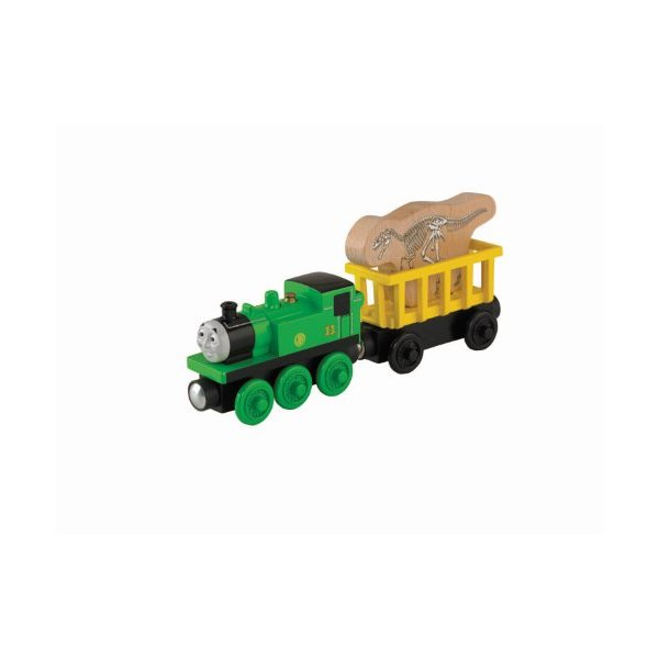 Fisher-Price Thomas Wooden Railway - Oliver's Fossil Freight (Tale of The Brave) (2-Pack)
