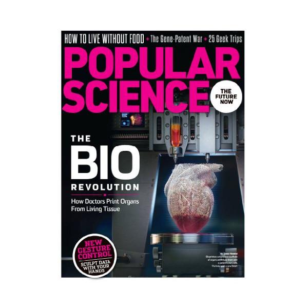 Popular Science (1-year auto-renewal)